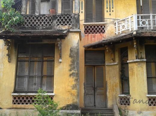 Cambodia, Phnom Penh French Villa