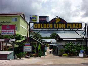 Sihanoukville, The Golden Lions Plaza