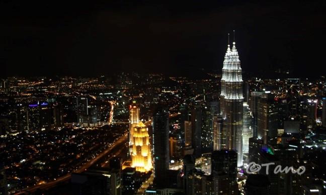 Kuala Lumpur, Petronas from KL Tower