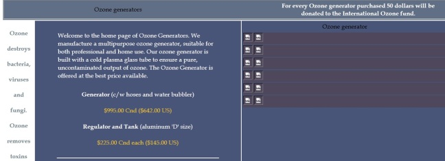 Oz Generators Website
