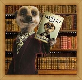 Talking TV meerkat Aleksandr Orlov's new autobiography, Britain  - Oct 2010